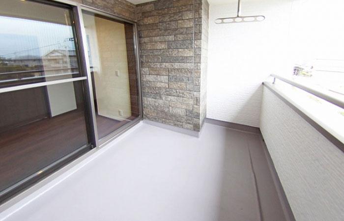 インナーバルコニーがある暮らし 新築一戸建て住宅
