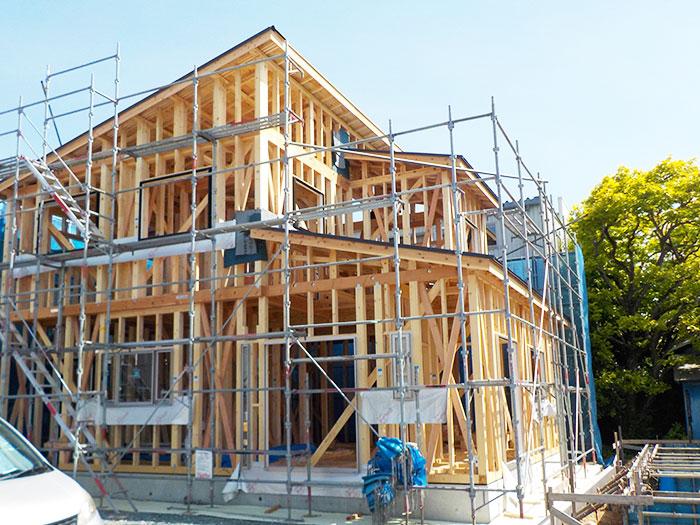 【上棟】葵西16期A号地 新築一戸建て住宅