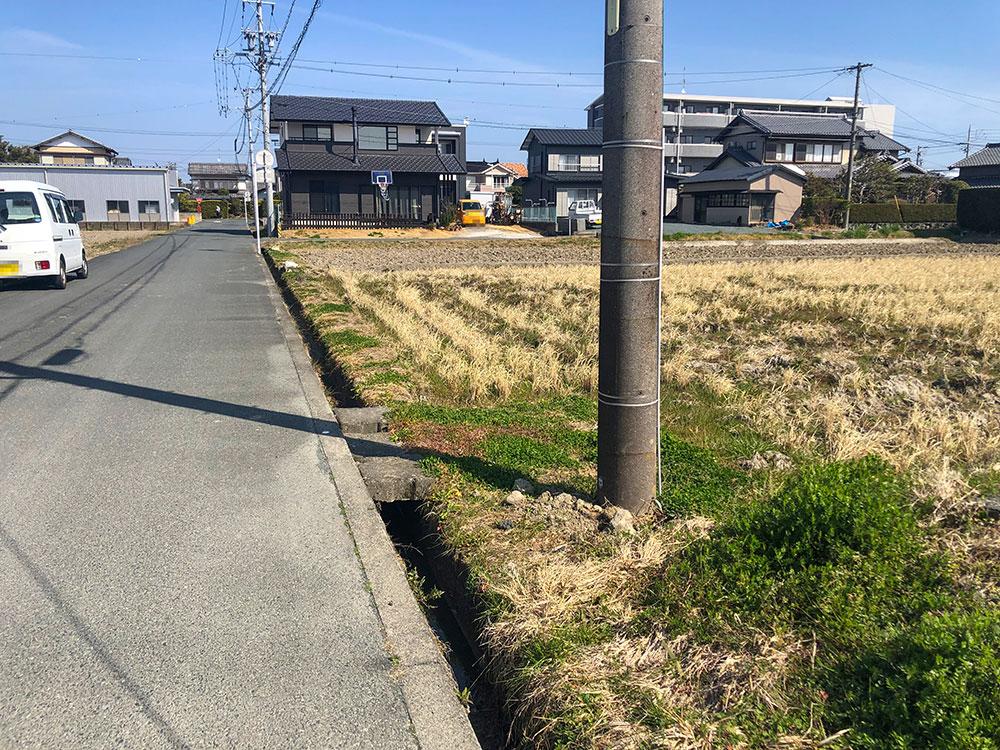 前面道路含む現地写真(2021年4月)