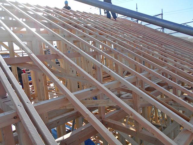 【上棟】有玉北町7期A号地 新築一戸建て住宅