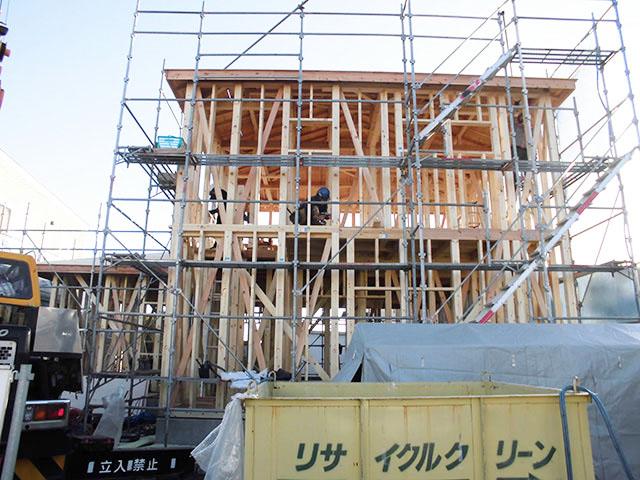 【上棟】有玉北町8期 新築一戸建て住宅