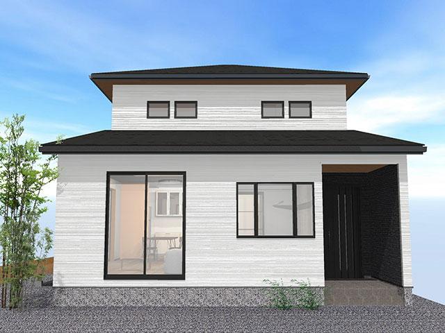 【上棟】有玉北町9期B号地 新築一戸建て住宅