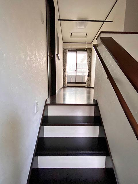 階段先サンルーム