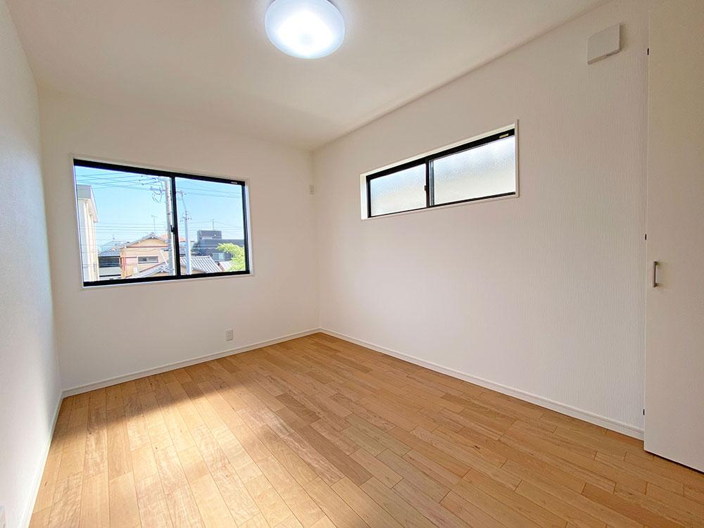 6.2帖のベッドルーム<br> 子供部屋に最適な広さのベッドルームです。