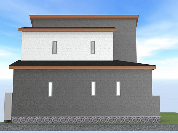 【上棟】小豆餅1丁目11期 新築一戸建て住宅