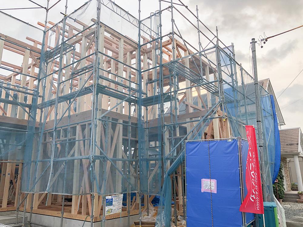 【上棟】萩丘3丁目7期 新築一戸建て住宅
