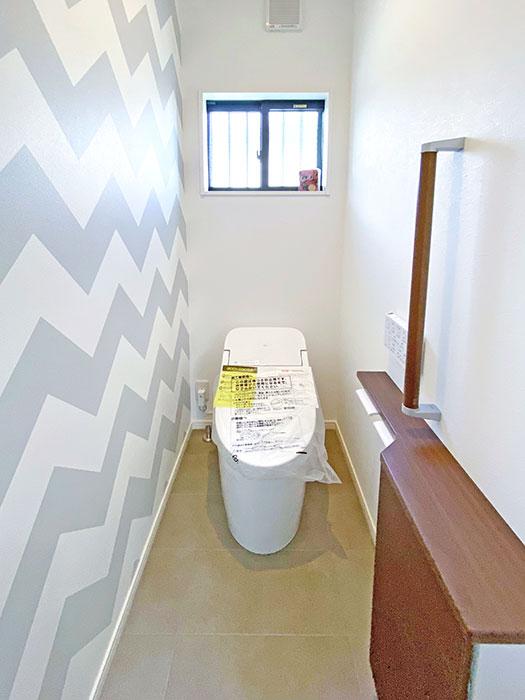 トイレ<br> お手入れ簡単!いつでもキレイを保つことができます。
