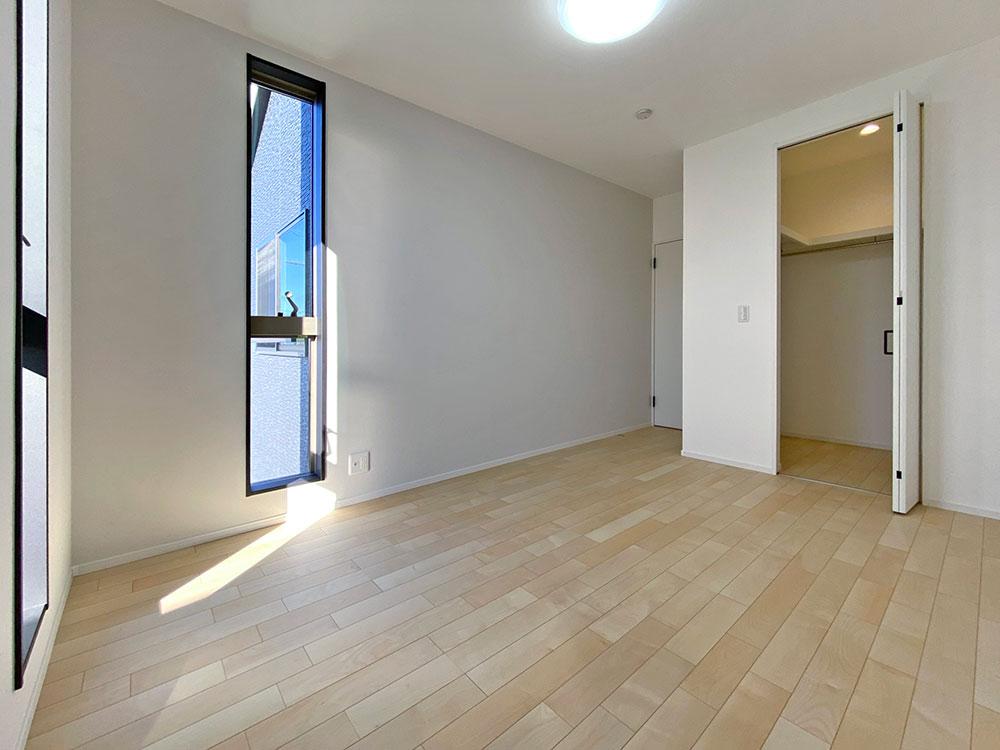 6.5帖のベッドルーム<br> 南向きで日当たり良好な一部屋です。