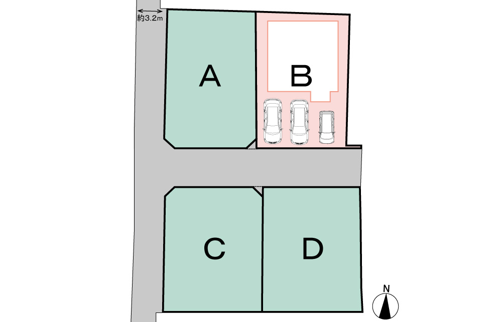 【今月着工】鴨江4丁目8期B号地 新築一戸建て住宅 浜松市中区