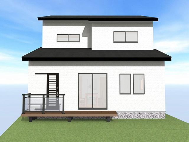 【上棟】小松12期A号地 新築一戸建て住宅