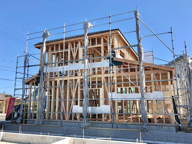 【上棟】小松12期B号地 新築一戸建て住宅