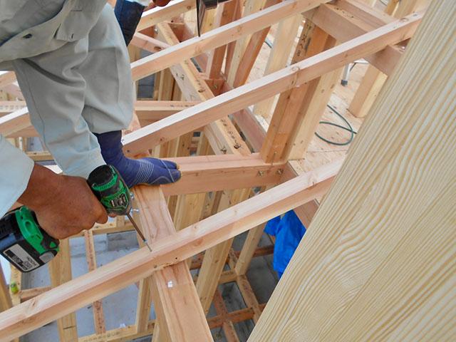 【上棟】小松12期C号地 新築一戸建て住宅