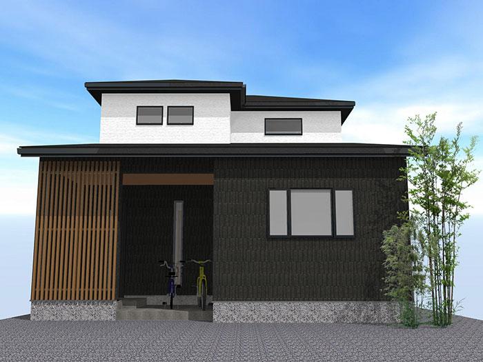 【上棟】小松13期 新築一戸建て住宅