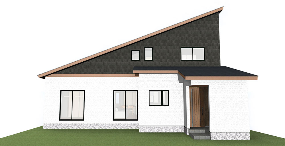 【上棟】小松14期B号地 新築一戸建て住宅