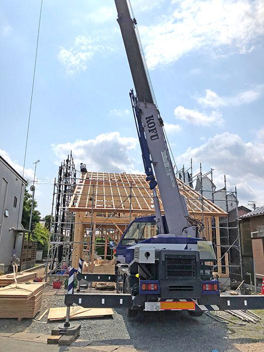 【上棟】小松15期 新築一戸建て住宅