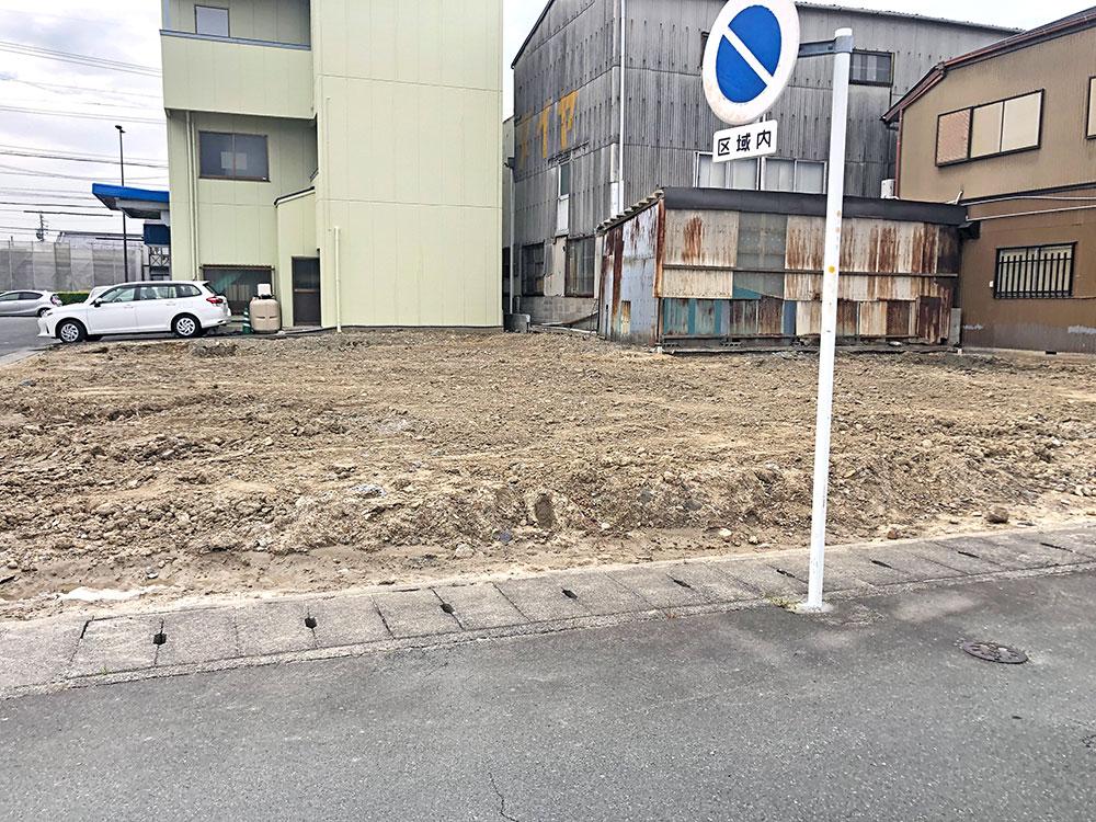(2021年5月)建築前の様子