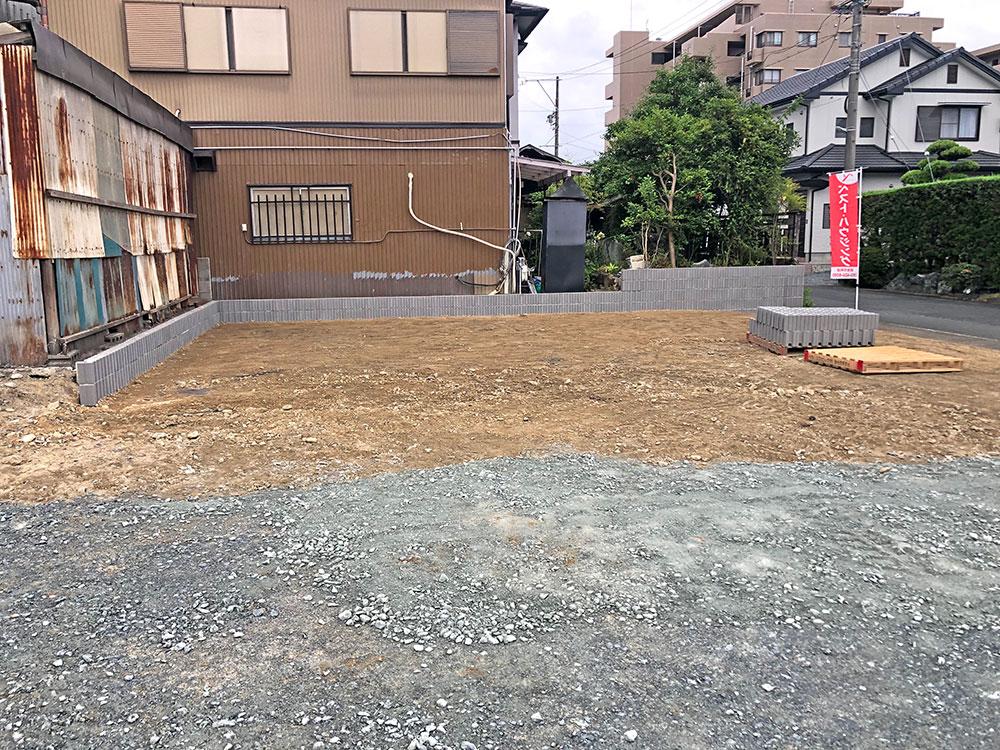 (2021年6月)建築前の様子