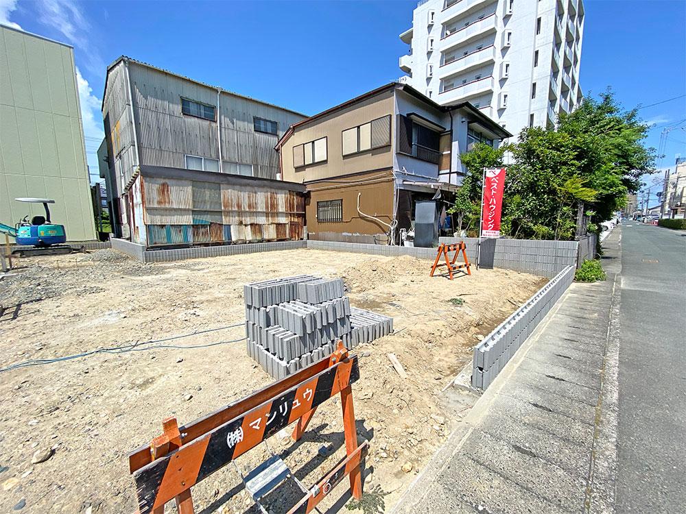 (2021年7月)建築前の様子