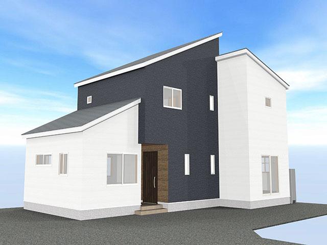 【上棟】三方原町15期C号地 新築一戸建て住宅