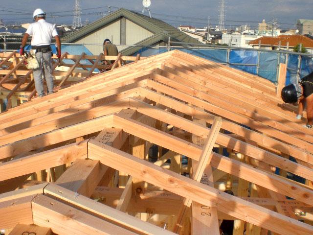 【上棟】三方原町15期D号地 新築一戸建て住宅
