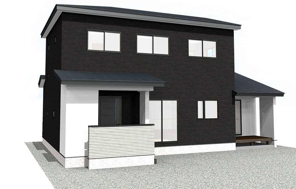 【上棟】三方原町16期A号地 新築一戸建て住宅