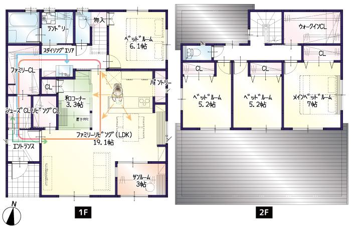【今月着工】三方原町16期B号地 新築一戸建て住宅