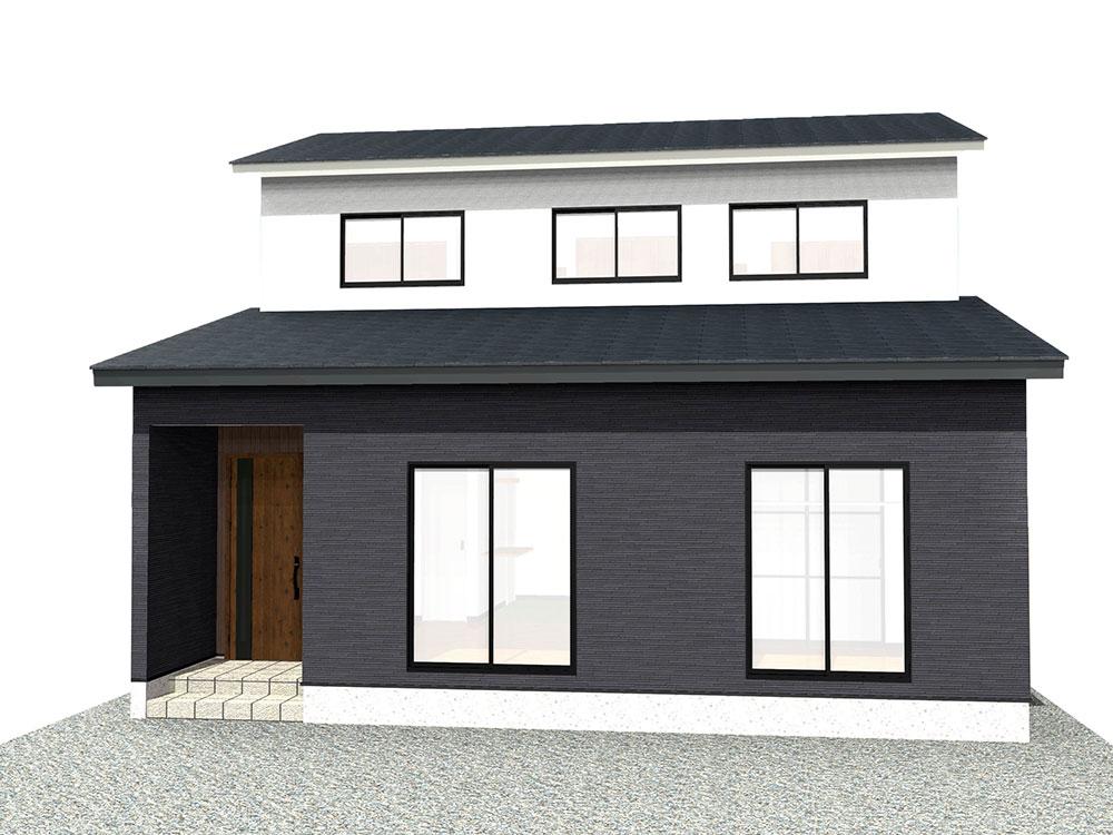【上棟】三方原町16期B号地 新築一戸建て住宅