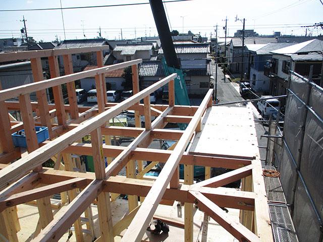 【上棟】三島町23期B号地 新築一戸建て住宅