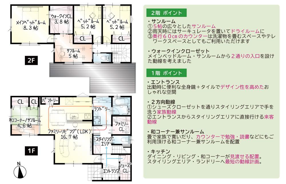 【来月着工】中島1丁目6期A号地 新築一戸建て住宅|浜松市中区