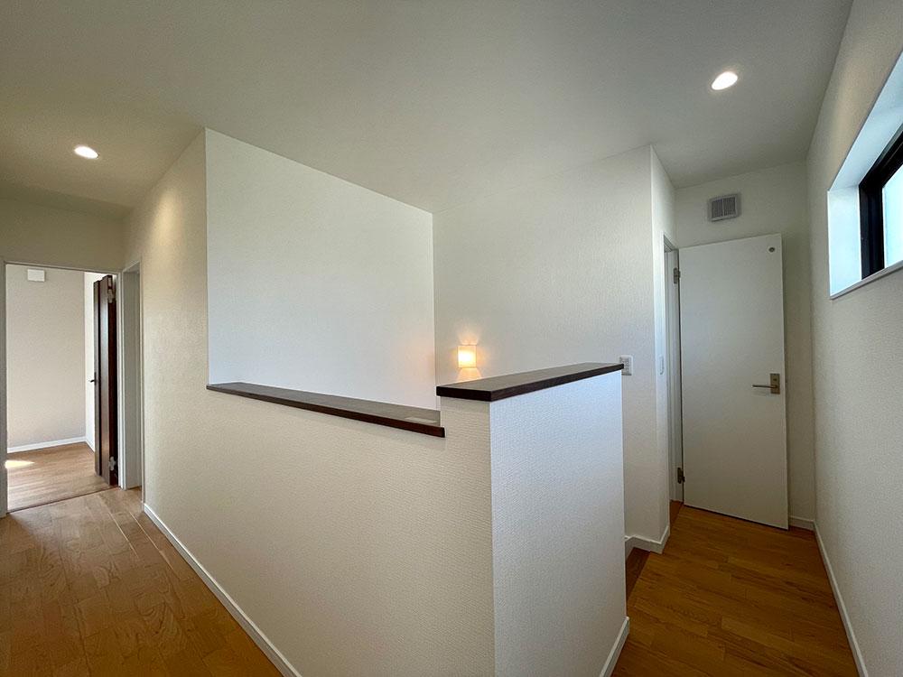 2階の廊下<br>
