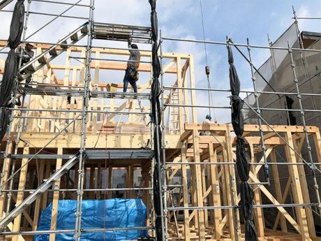 【上棟】西ヶ崎町2期A号地 新築一戸建て住宅