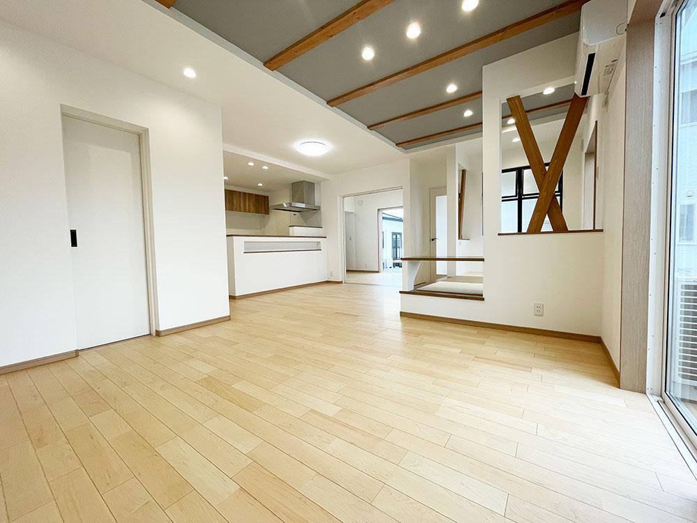 【完成・家具搬入前】西ヶ崎町2期B号地 新築一戸建て住宅