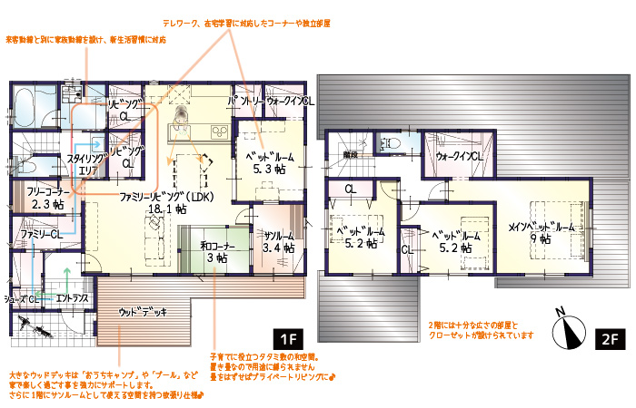 【今月着工】西ヶ崎町2期B号地 新築一戸建て住宅