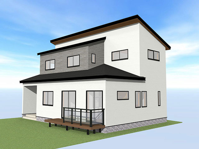 【上棟】西ヶ崎町2期C号地 新築一戸建て住宅
