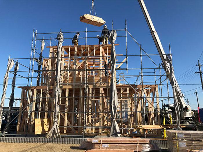 【上棟】西ヶ崎町2期D号地 新築一戸建て住宅