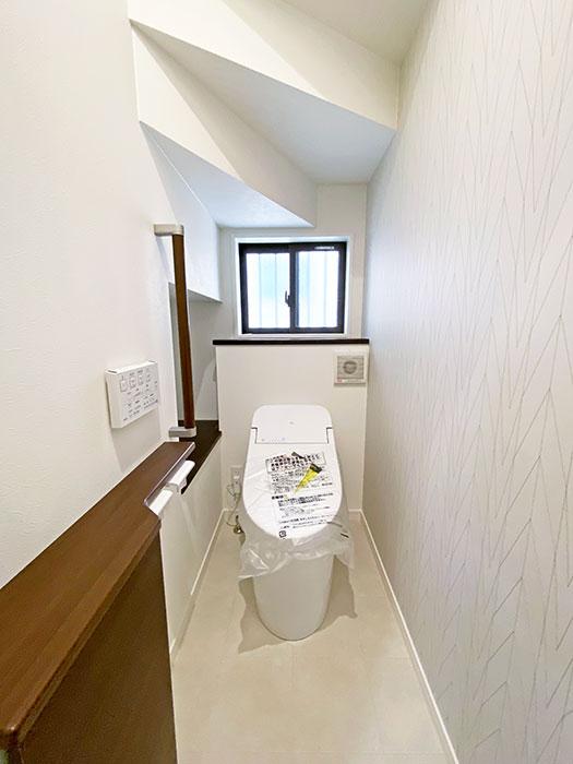 トイレ<br> リビングと離れているので音漏れの心配がなく気兼ねなく使えます。