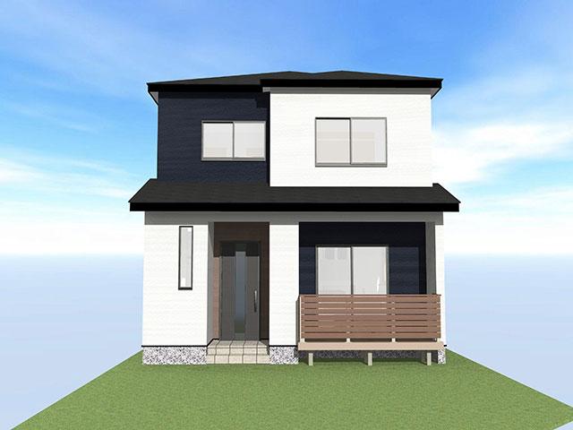 【上棟】領家1丁目9期C号地 新築一戸建て住宅