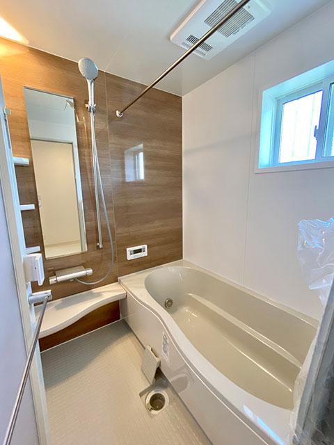 バスルーム<br> お手入れ簡単!清潔感のあるバスルームです。