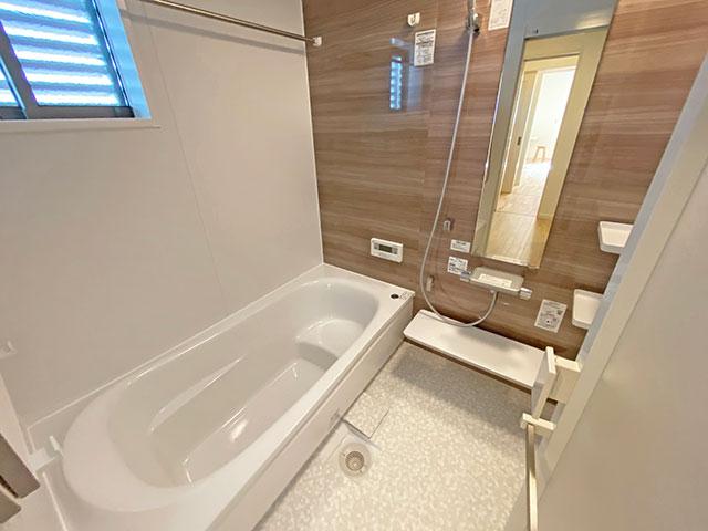 バスルーム<br> 人がお風呂に求める「心地いい」という瞬間のために進化した浴室。