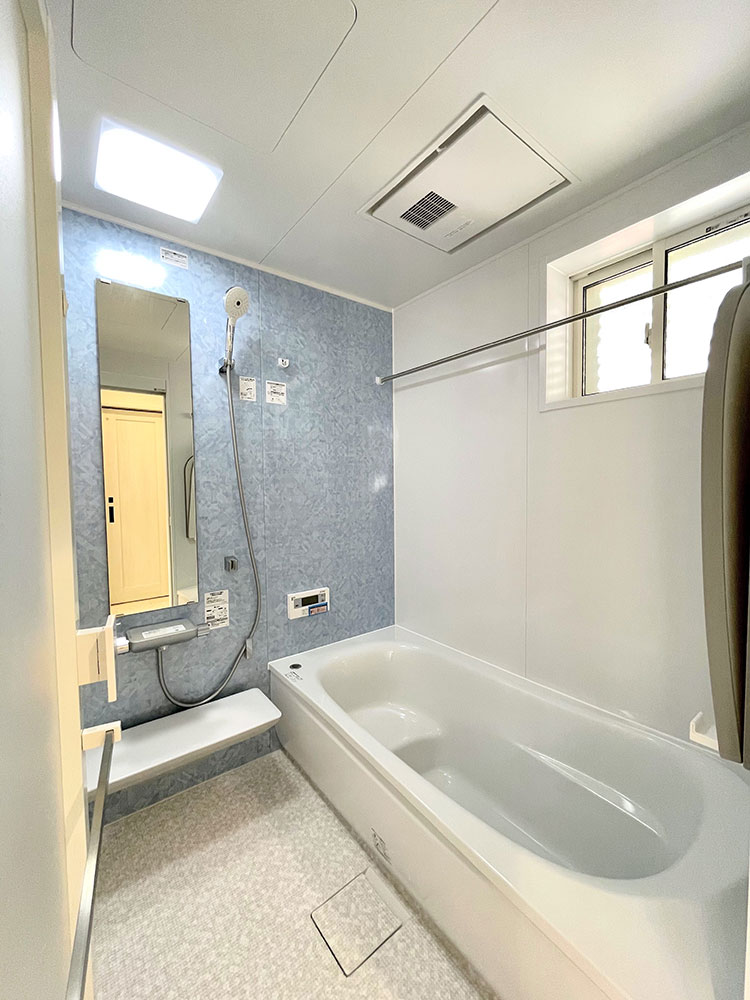 洗濯作業③:バスルーム