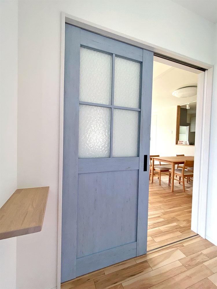 玄関→リビングドア