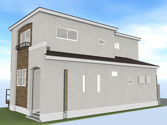 【上棟】住吉1丁目17期 新築一戸建て住宅