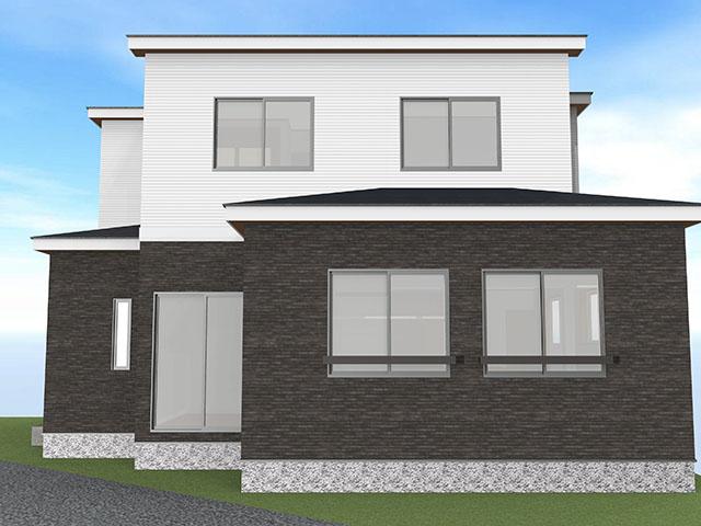 【上棟】富塚町10期A号地 新築一戸建て住宅