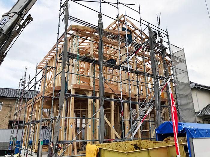 【上棟】和田町5期C号地 新築一戸建て住宅